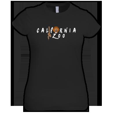 California Zoo White Logo Women's Tee
