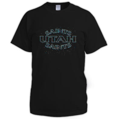 Utah Saints Split Logo