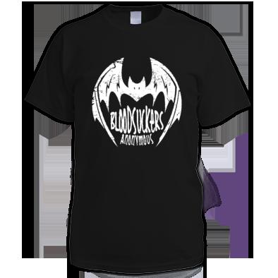 Bloodsuckers Anonymous Bat T-Shirt