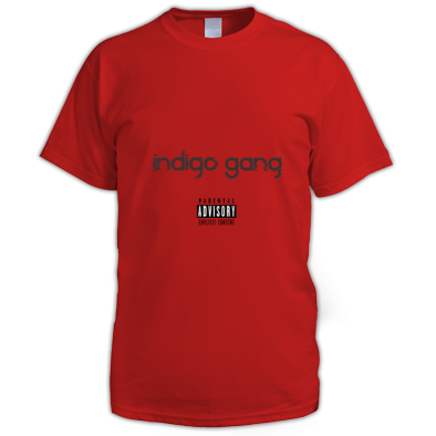 """indigo gang"" T-Shirt"