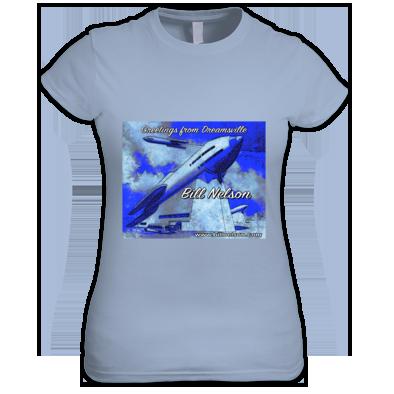 Dreamsville Rocket-Launcher (Ladies Tee)