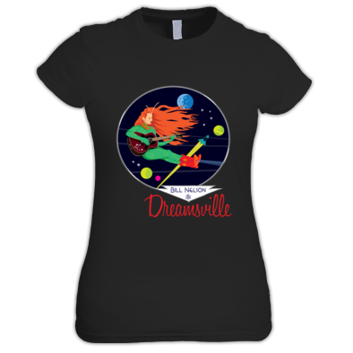 Dreamsville Spacegirl (Ladies Tee)