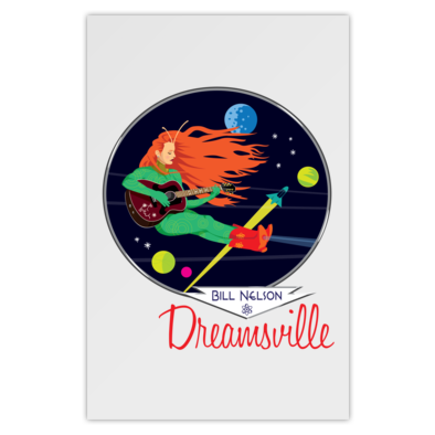 Dreamsville Spacegirl (Poster)