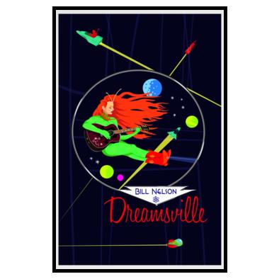Dreamsville Spacegirl (Poster)