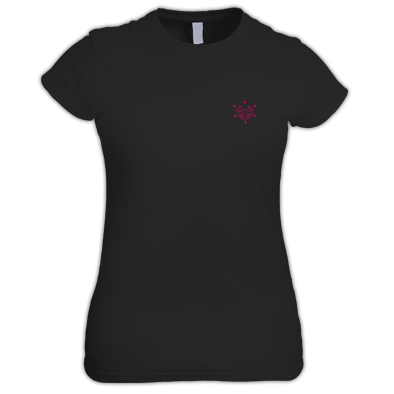 Women's T-shirt | ive² Small Logo Pink