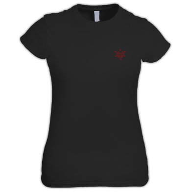 Women's T-shirt | ive² Small Logo Red