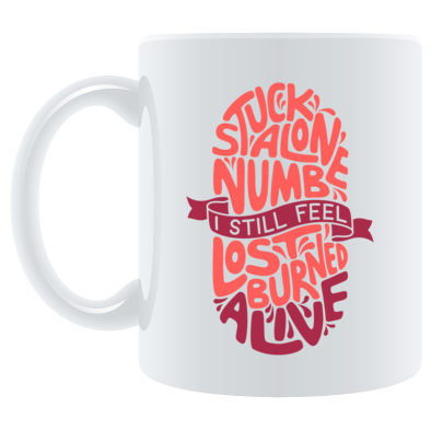 """Pursuit to Feel"" Mug"