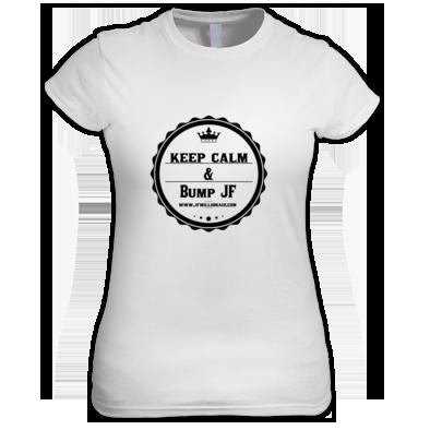 Keep Calm Bump Jf Women's t-shirts