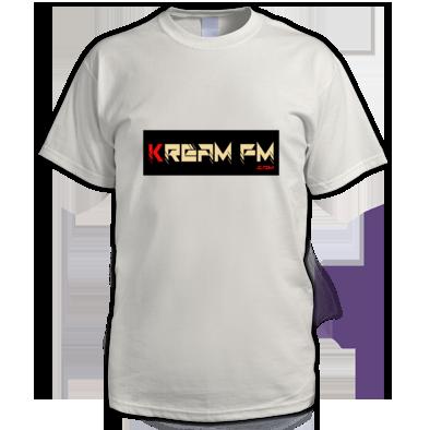 Kream FM Banner Logo T-Shirt (Mens)