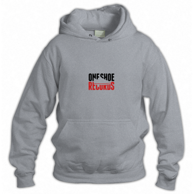 One Shoe Records | Black & Red logo