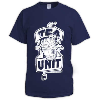 Tea Unit X As One 'STAY CAFFEINATED' Tea-Shirt