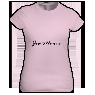 Women's T-Shirt - 'Jes Marie' Black Logo (More Colors Available)