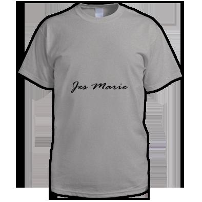 Men's T-Shirt - 'Jes Marie' Black Logo (More Colors Available)