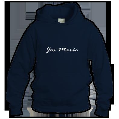 Sweatshirt - 'Jes Marie' White Logo (More Colors Available)
