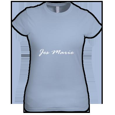 Women's T-Shirt - 'Jes Marie' White Logo (More Colors Available)
