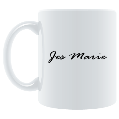 Mug - 'Jes Marie' Logo