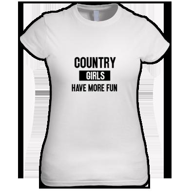 Country Girls Have More Fun (Black Logo)