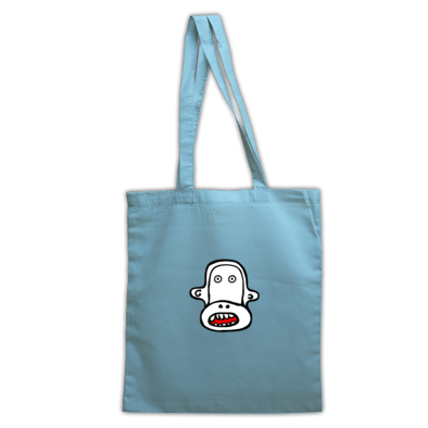 Toothy Monkey Tote Bag