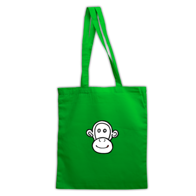T Monkey Tote Bag
