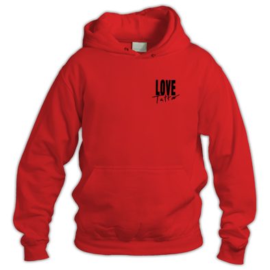 Hoodie - Small Black Love Tattoo Logo