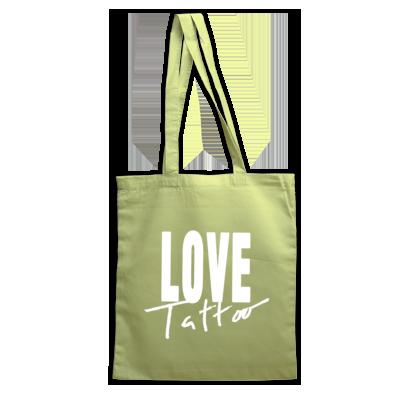 Bag - White Love Tattoo Logo