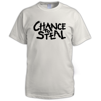 Chance to Steal Painted Logo Tee