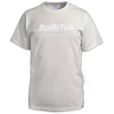 SpiRiTuS logo and album (white)