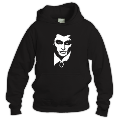 A Sinister Vampire's Face (Hoodie)