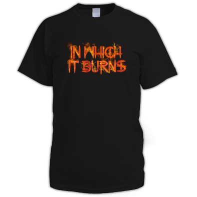 Mens - InWhichItBurns Logo