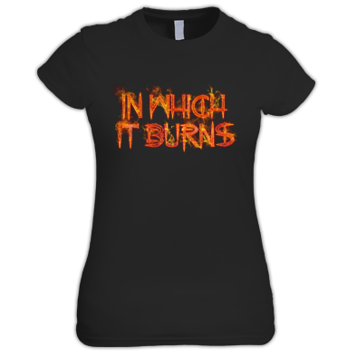 Ladies - InWhichItBurns Logo