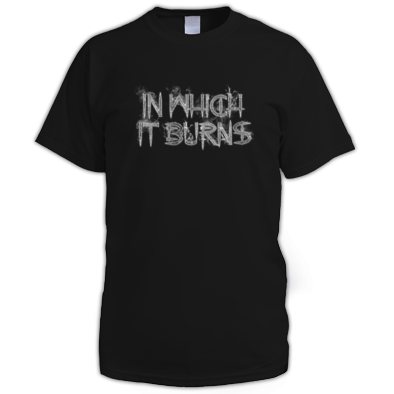 Mens - InWhichItBurns Grey Logo
