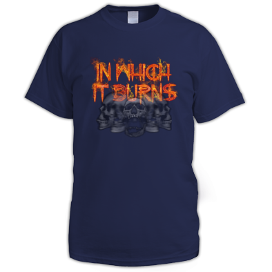 Mens - InWhichItBurns Logo skulls