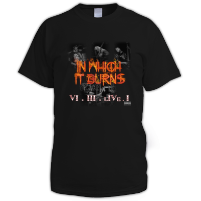 InWhichItBurns VI III LivE I - Mens Shirt