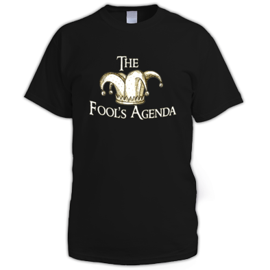 The Fool's Agenda Cream Logo Tee