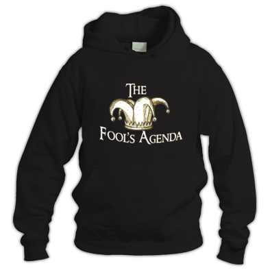 The Fool's Agenda Cream Logo Hoodie