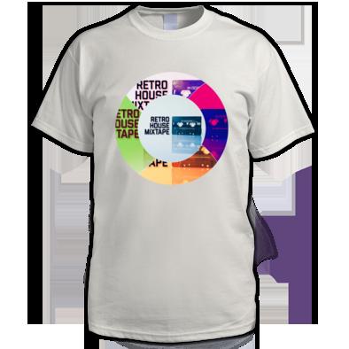 Retro House Mixtape - Round Logo