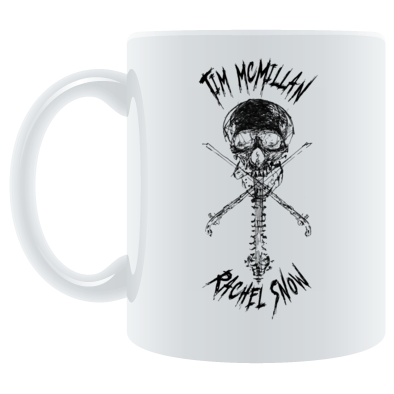 TMRS METAL LOGO BLACK - MUG