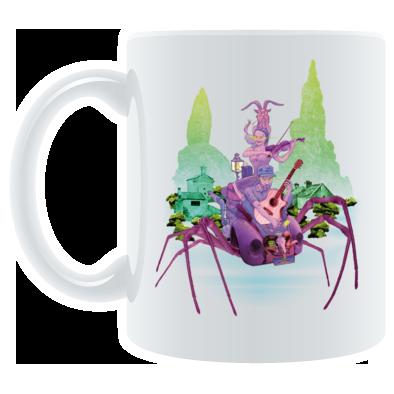 TMRS SPIDER ART - MUG