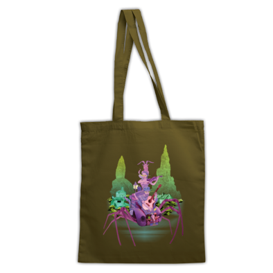 TMRS SPIDER ART - TOTE BAG
