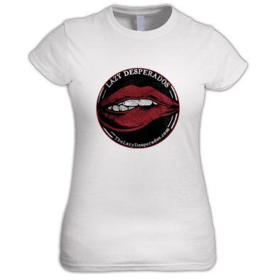 Lazy Desperado Lips Women's Shirt