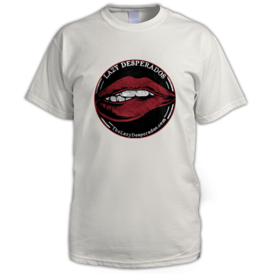 Lazy Desperado Lips Men's Shirt