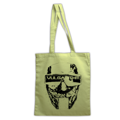 Vulgarithm Tote Bag - (Colour options available for bag and logo)