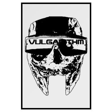 Vulgarithm Logo Poster - Any shade available
