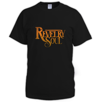 (Unisex) Orange Distressed Logo T-Shirt