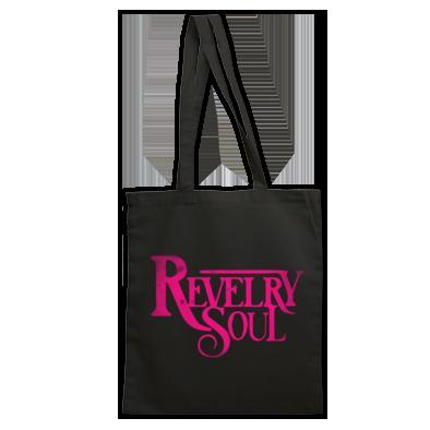 Pink Distressed Logo Bag