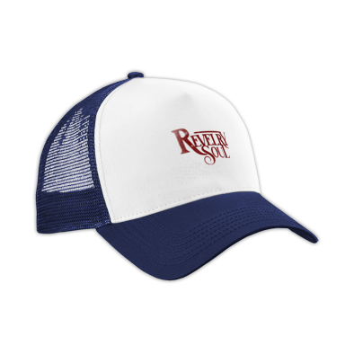 Red Distressed Logo Hat