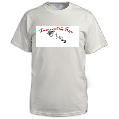 Thorns and the Rose Tee White