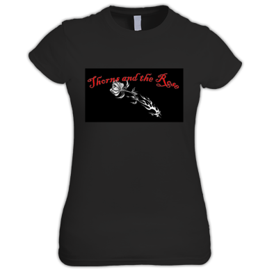 Thorns and the Rose Ladies Tee 1