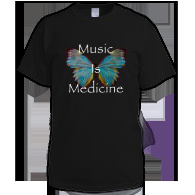 Music Is Medicine Men's Tee
