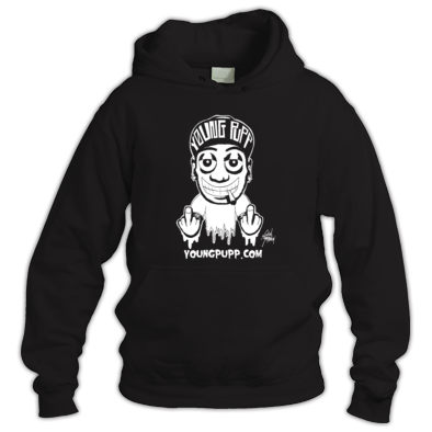 Young Pupp Hooded Sweatshirt